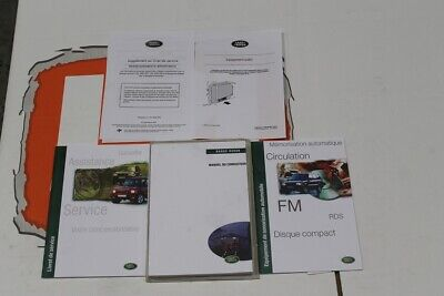 VDC101380 FRENCH Range Rover P38 Owners Hand Book service Pack
