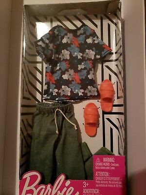 SHORTS,SHOES NEW 2019 FASHION PACK  FOR KEN DOLL,PINK HOODIE MATTEL
