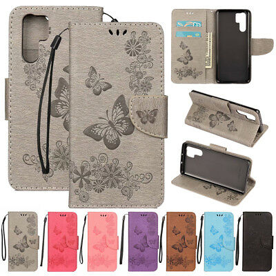 For Huawei P30 Pro P20 Lite 2019 Magnetic Leather Wallet Flip Phone Case Cover