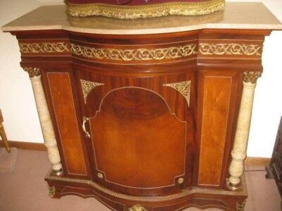 Antique / Vintage French-Louis XVI Style-Sideboard Console Cabinet TV Stand