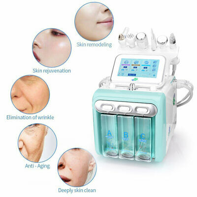 6In1 Hydra Hydro Dermabrasion Microdermabrasion Water Salon Peel Facial Machine