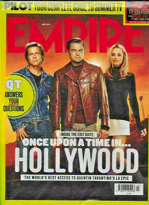 Once Upon A Time In Hollywood Quentin Tarantino - Empire Magazine - July 2019