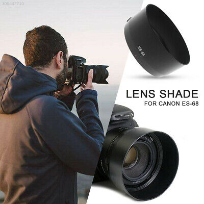 for Canon ES-68II Lens Shade Lens Hood Lens Cover Shooting Replacement SLR 3073