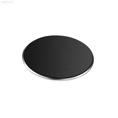 9449 Universal Aluminum Alloy Dashboard Holder GPS Magnet Disc Round Stand