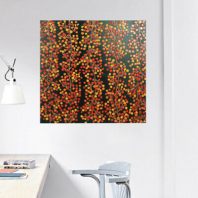 Modern Abstract Hand Painted Art Canvas Oil Painting Decor Framed - Cherry