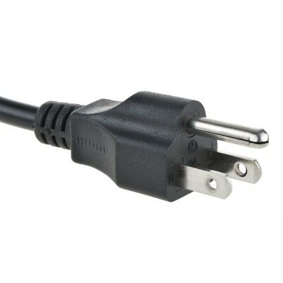 Power Cord AC Cable 5 ft PC Computer Monitor Printer 3 Prong