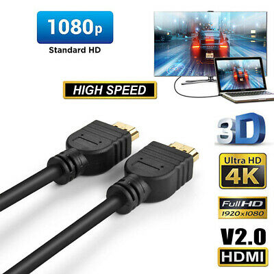 New Premium HDMI Cable v2.0 Ultra HD 4K 2160p 1080p 3D High Speed Ethernet HEC