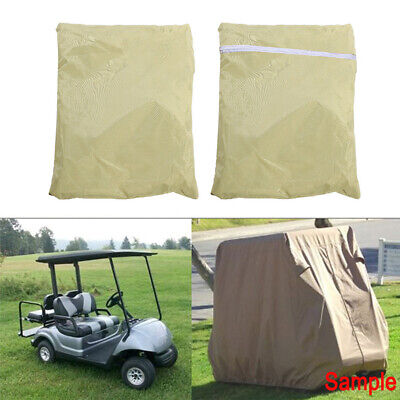Pro Nylon PVC Strong Durable Golf Cart Storage Cover Car Protector for EZGO Club
