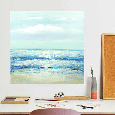 Abstract Hand Painted Art Canvas Oil Painting Modern Home Decor Framed Sea