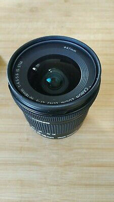 Objectif Canon EFS 10-18 mm IS STM