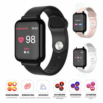 B57 Sport Smart Watch IP67 Waterproof Watch Heart Rate Monitor Sport Bracelet US