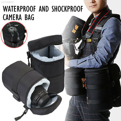 A6E2 Wear-Resistant SLR Camera Lens Pouch Travel Outdoor Climbing Hiking