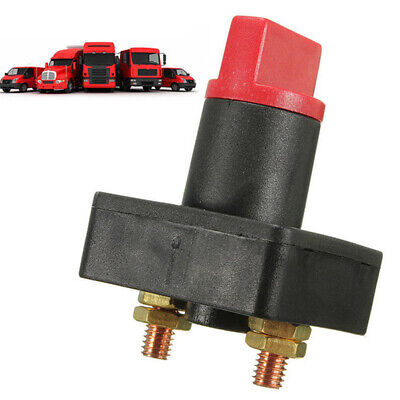 Switch Safety Master Car Volt Breaker Cutoff Power Screw Battery Disconnect