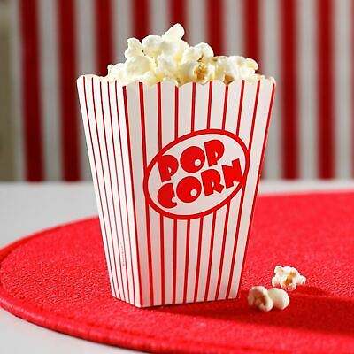 Party Popcorn Boxes Retro Cinema Party Favour Treat Boxes Birthday Party 16 Pcs