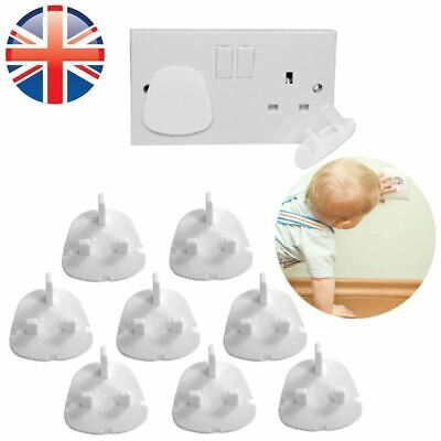 12 Pcs Electrical Home Plug Mains Protector Socket Covers Kids Baby Safety Guard