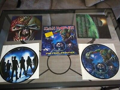Iron Maiden Final Frontier 2 Lps Picture Vinyl