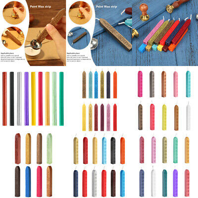 Traditional Wax Sealing Stick Letters Stamp Seal Melting Candle Envelope Crafts