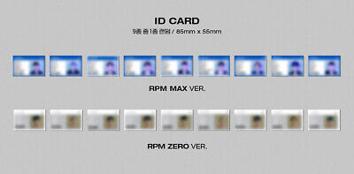[SF9] RPM ALBUM / Official Photocard / RPM ZERO ver.-WHITE / ID CARD