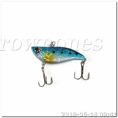 5pcs Plastic Fishing Lures Topwater Floating Lure Hooks Bait Bass B