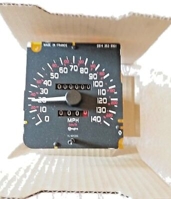 Renault 19 Speedometer Head. Brand New. Genuine Renault Part