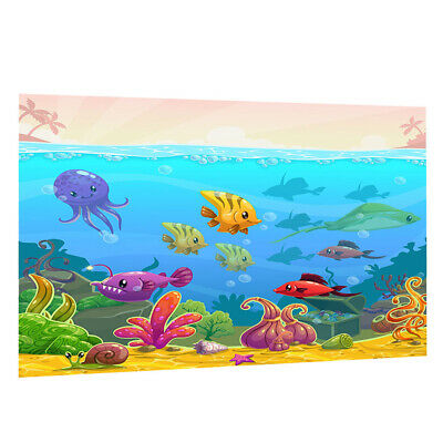Fish Tank Decorative Pictures Underwater Sea Animals Style Image Wallpaper