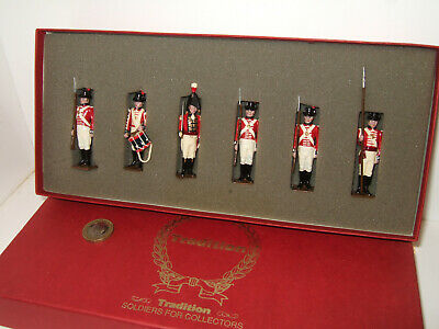 Tradition Soldiers The Royal Marines (Napoleonic 1805) including officer in 54mm