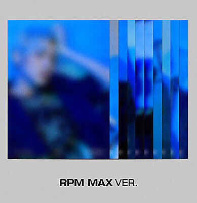 [SF9] RPM ALBUM / Official Folding Poster/ RPM MAX ver.- BLACK / Folding Poster