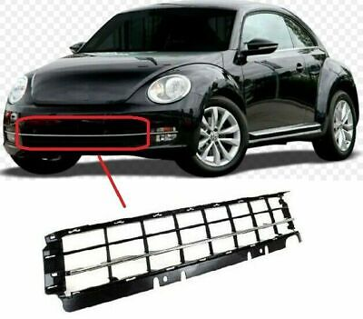 VW Beetle 2012-2016 Front Lower Centre Bumper Grille With Chrome Moulding New