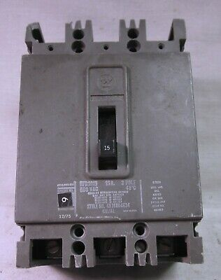 3 Phase Circuit Breaker Westinghouse  70 Amp 1532397 A Used