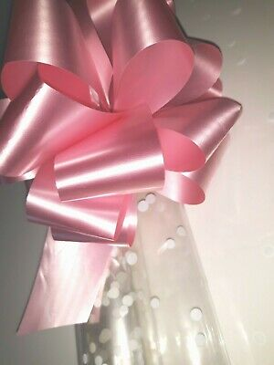 New designs Strong Christmas Cellophane Wrap Folded Inc Free Bow Or Ribbon
