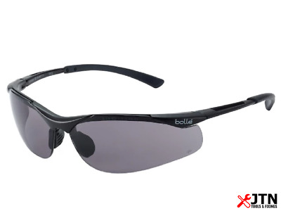 Bolle Contour CONTPSF Safety Glasses Smoke Lenses