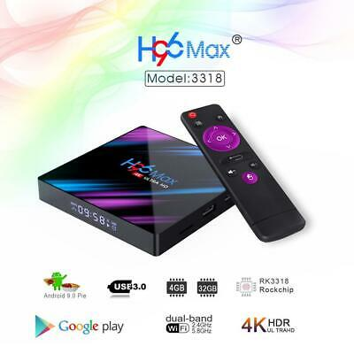The latest Android 9.0 RK3318 chip H96 MAX BT 4.0 set-top box 16- 64gb G1J5