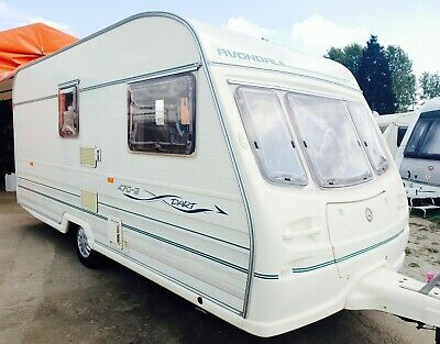 Avondale Dart 470/2 1998 2 Berth Light Weight Touring Caravan With Awning