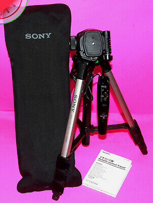 Sony TRIPOD VCT-D680RM REMOTE Controlled CASE Manual 4 Sony Cameras / Camcorders