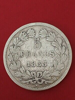 5 Francs ARGENT IIe TYPE DOMARD 1833 M