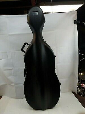 Bellafina ABS Cello Case with Wheels 4/4 Size-SEE PICTURES AND DESCRIPTION