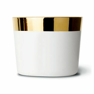 "Sieger by Fürstenberg ""Sip of Gold blanc"" Becher, Plain white"