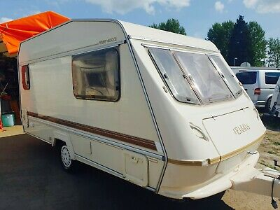 Elddis Wisp 400 2 Berth Light Weight Touring Caravan With Accessories