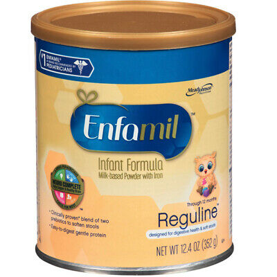 MEAD JOHNSON 1 EA Enfamil Reguline Powder 12.4 oz. Can 5050570 CHOP