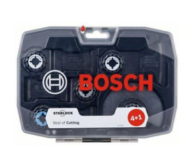 Bosch Tool Starlock Best of Cutting 5 Piece Saw Blade Set Wood Metal