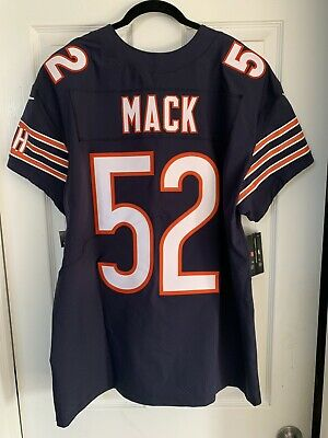san francisco 03247 48dbf CHICAGO BEARS KHALIL Mack #52 Youth Name & Number T-Shirt ...