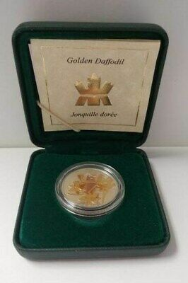 2003 50-Cent Golden Daffodil -  Sterling Silver Coin with Gold Plating