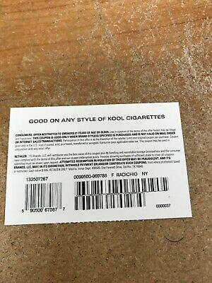 $3.00KOOL coupons $1.50 Exp. 8/31/2019. Complimentary Shipping.
