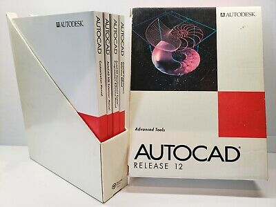 Autocad Release 12 Advanced Tools New Manuals Autodesk 1992 NMT