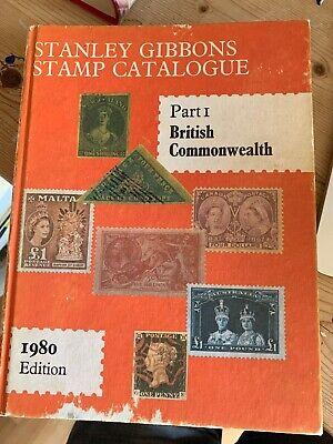 Stanley Gibbons Stamp Catalogue 1980 Part 1 British Commonwealth