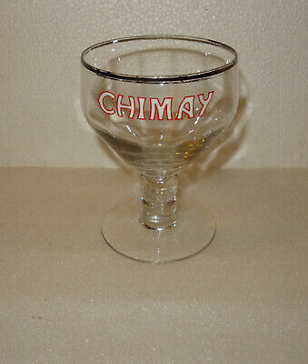 N°7 Verre Emaille Biere Trappiste Abbaye Chimay Belgique