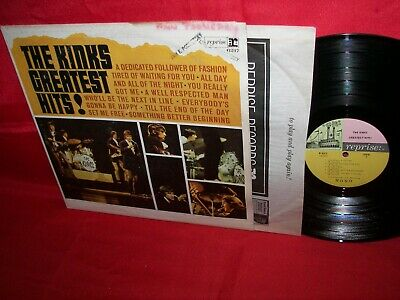 the KINKS greatest hits! LP record album ORIG mono