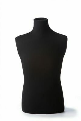 Male Dress form Torso - Black