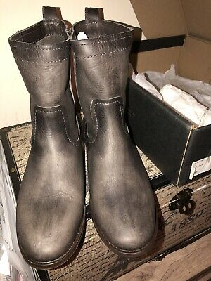 50428caf15a FRYE WOMEN'S CARA Short Leather Boot - Smoke - $109.99 | PicClick