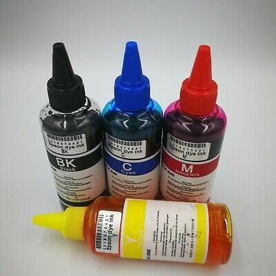 4 Pack 400Ml Sublimation Ink For Epson 1430 1400 Cmyk